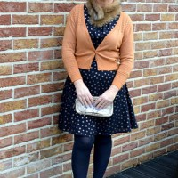 Outfit of the week: Copper print