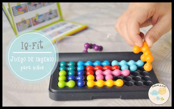 Juego de ingenio para niños IQ-fit