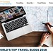 The World's Top Travel Blogs