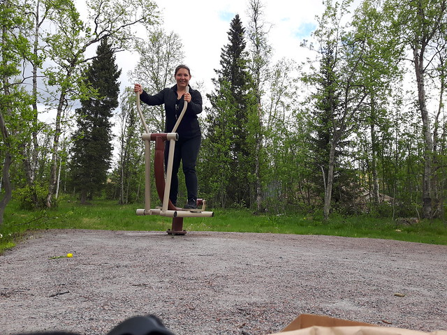 Utegym Kiruna