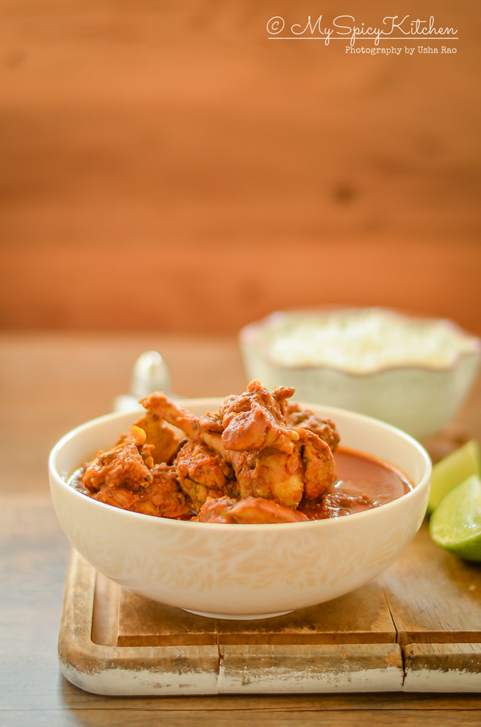 Bowl of Chicken Xacuti