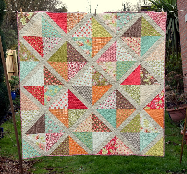 Shirley's Birthday Quilt