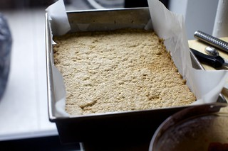 parbaked crumb base