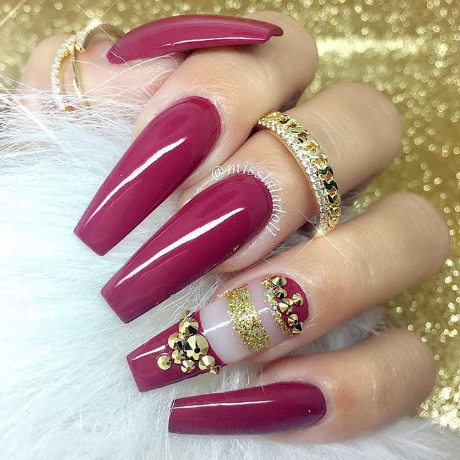 30 Trendy Long Nails Art Designs for 2018  Fashion 2D