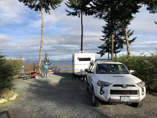 Nanaimo -  our beautiful camp