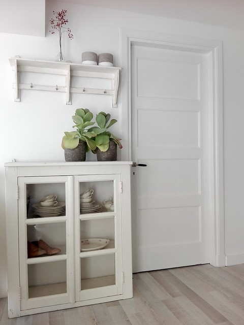Kastje wit landelijk interieur