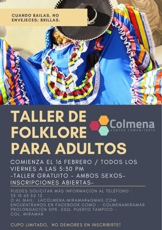 2018.02.16 TALLER DE FOLKLORE PARA ADULTOS
