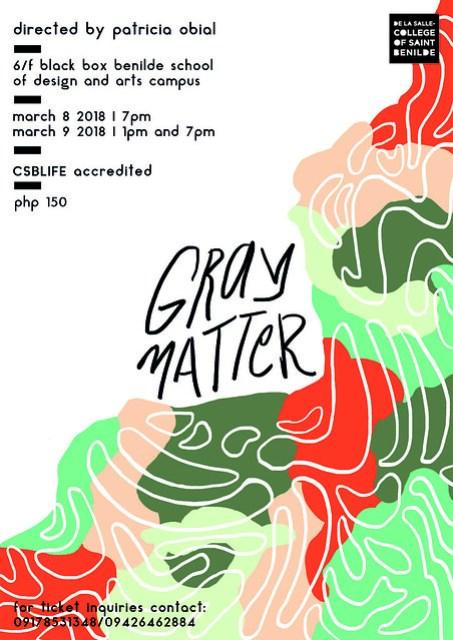 GRAY MATTER Official Poster