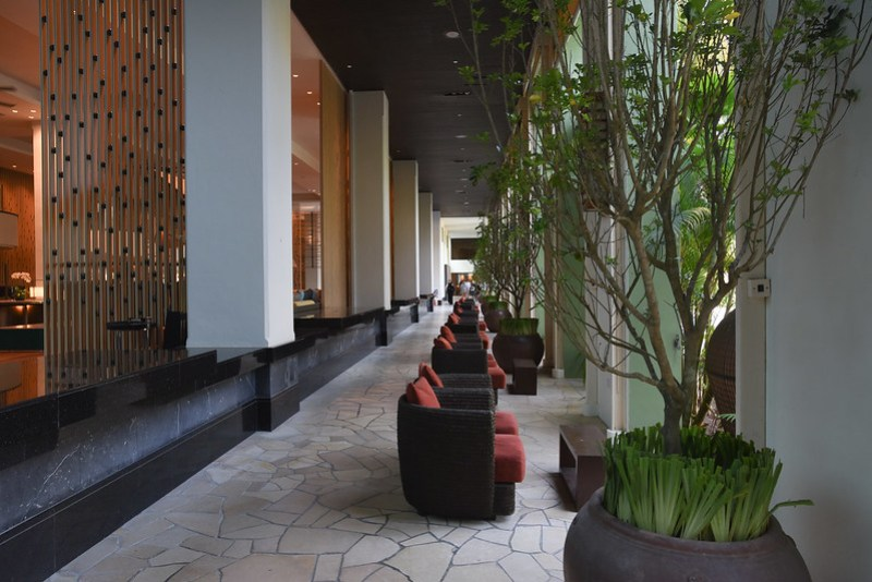 lobby of parkroyal penang resort