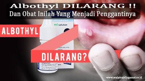 Obat Sariawan Pengganti Albothyl