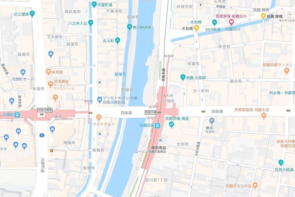 Shirakawa south street Map