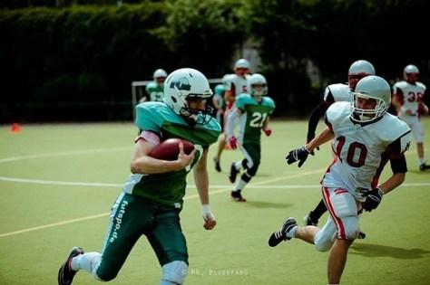 #tbt #berlinbullets #cottbuscrayfish #mrblickfang #futspo #americanfootball #youthteam #greenandwhite #greenandwhitearmy #season2015