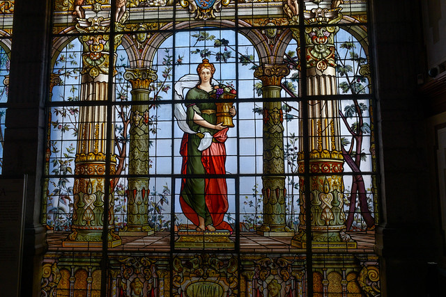Stained Glass in Chapultepec Castle