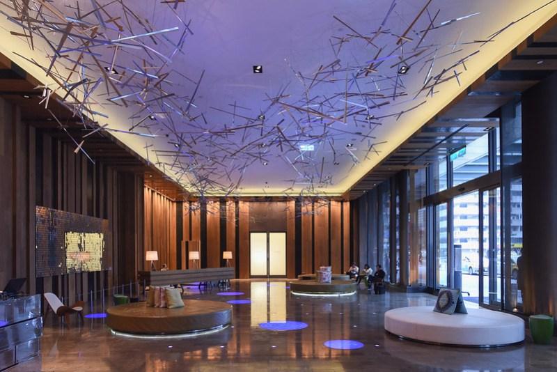 ground floor lobby of w taipei