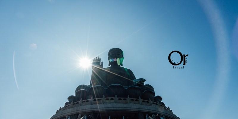 香港景點|搭乘昂坪纜車來欣賞天壇大佛吧,在空中看見大佛的身影及遼闊大海