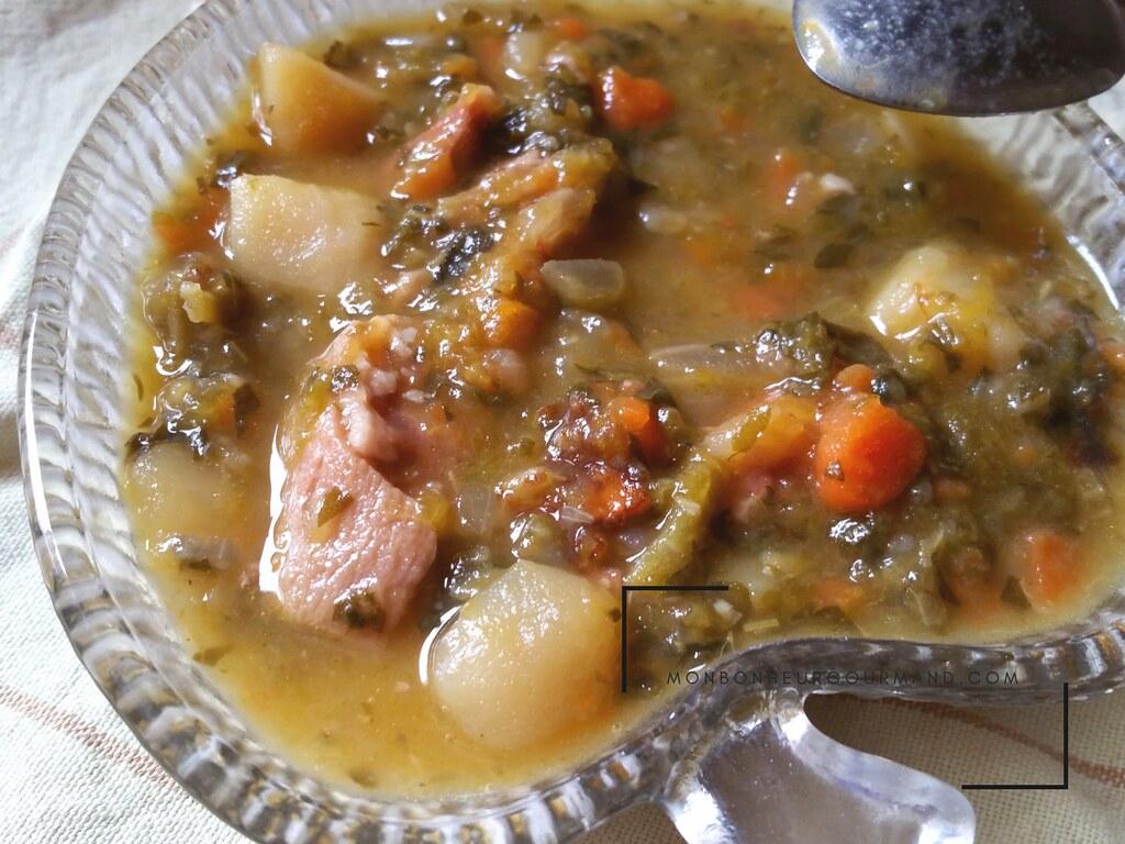 soupe verte créole