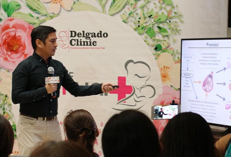 Dr. Oyie Balburrias talking about the OBO Program of Delgado Clinic