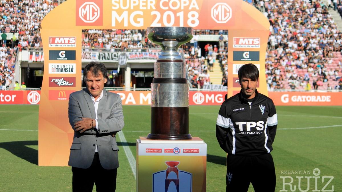 Final Supercopa 2018 Colo Colo 3 - Santiago Wanders 0