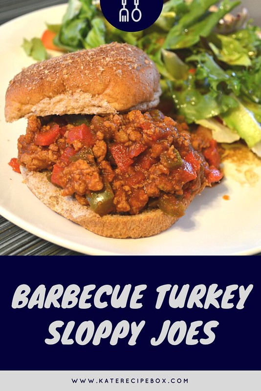 Barbecue Turkey Sloppy Joes