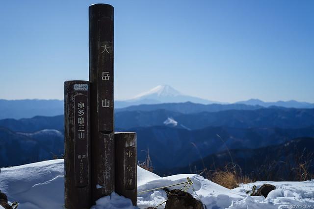 2018.01.27 御岳山〜大岳山