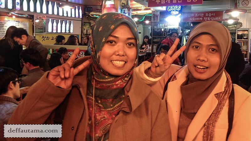 5 hari di Seoul - Uphe dan temannya