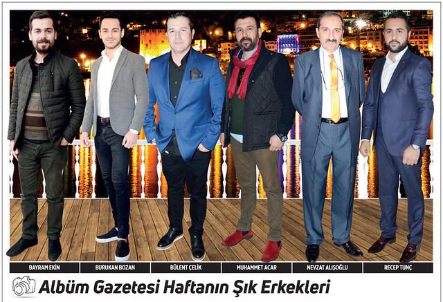 Bayram Ekin, Burukan Bozan, Bülent Çelilk, Muhammet Acar, Nevzat Alışoğlu, Recep Tunç