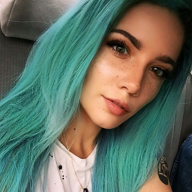Green hair color ideas you have to see