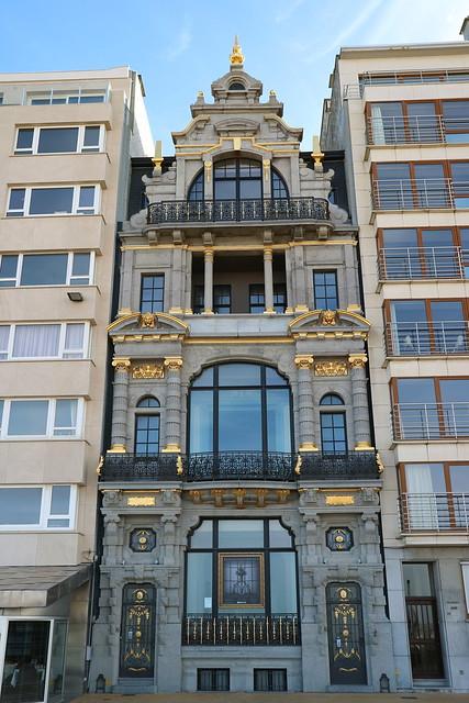 Opmerkelijke gevels in Oostende (3)