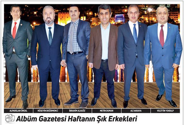 Alparslan Ünsal, Hüseyin Değirmenci, İbrahim Alagöz, Metin Duman, Ali Akkaya, Velittin Yenialp