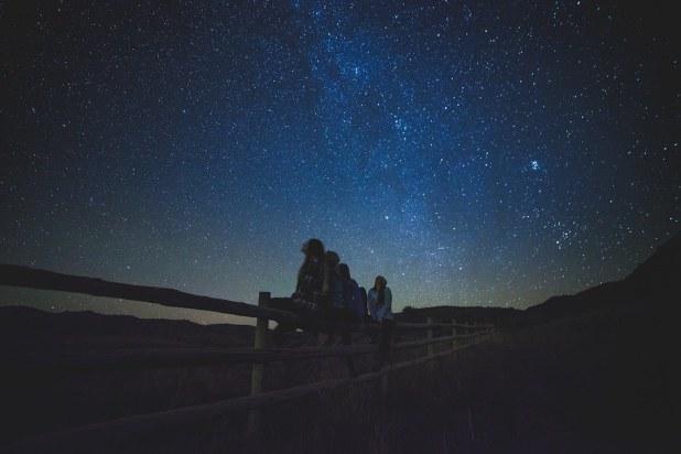 Estrellas en El Teide