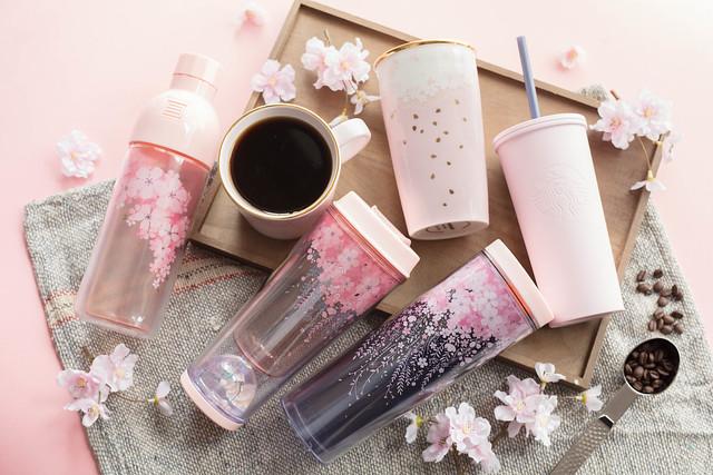 Starbucks Cherry Blossom Merchandise Series