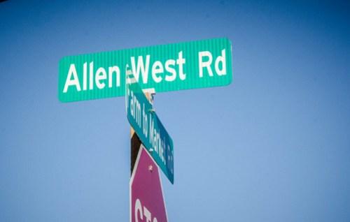Allen West Road