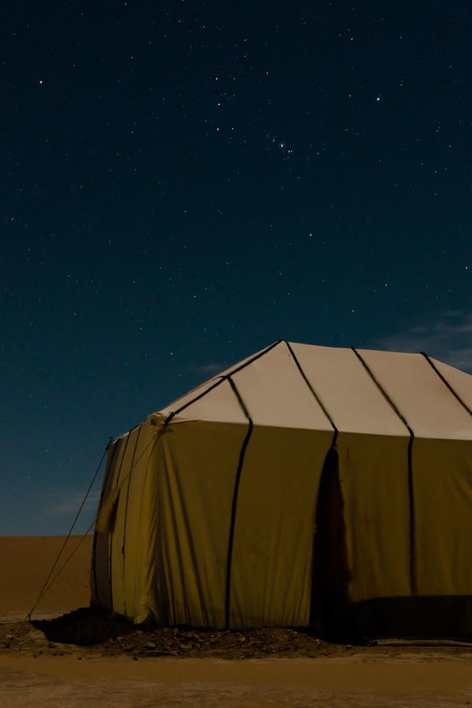 Starry Sahara nights