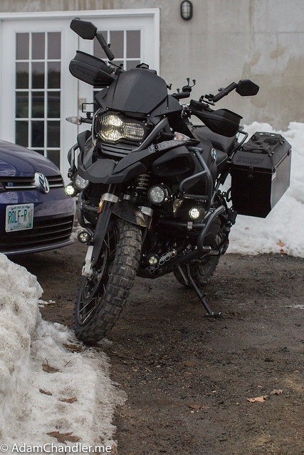 BMW R1200GS Clearwater Erica  + Darla  off