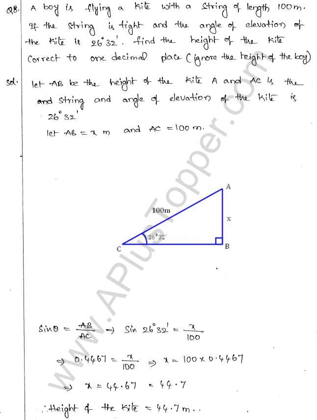ml-aggarwal-icse-solutions-for-class-10-maths-chapter-21-heights-and-distances-7
