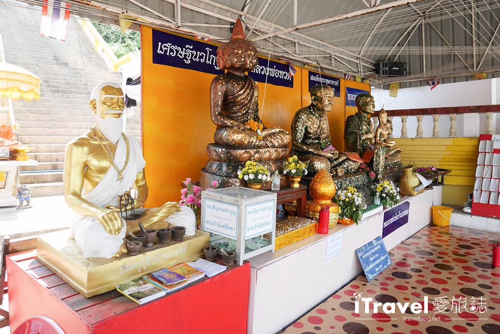 華欣景點推薦 考佬寺Wat Khao Takiap (6)