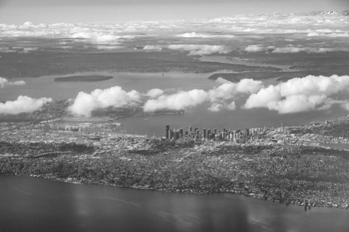 Seattle from Above [Explored: March 22, 2018]