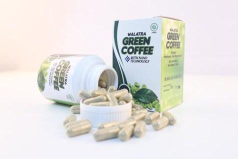 Walatra Green Coffe, Pelangsing Berizin dan Berbahan Alami