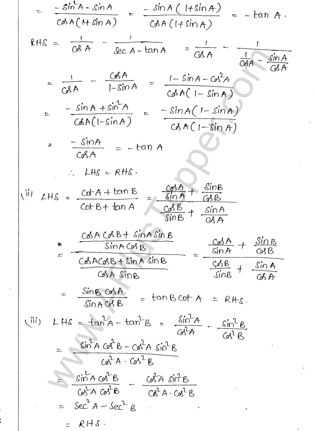 ml-aggarwal-icse-solutions-class-10-maths-ch-19-trigonometric-identities-12