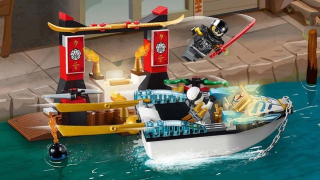 REVIEW LEGO Juniors 10755 Juniors Zane's Ninja Boat Pursuit
