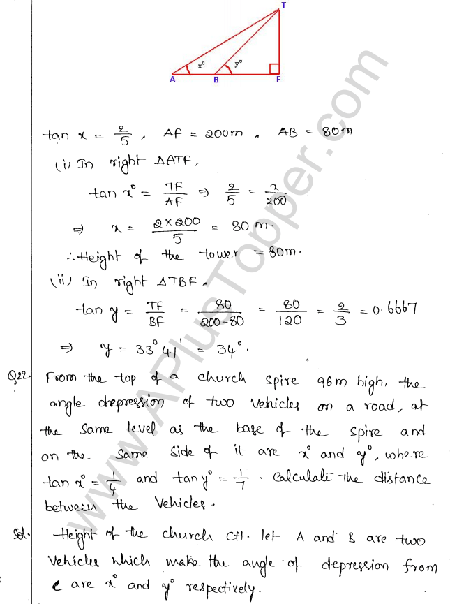ml-aggarwal-icse-solutions-for-class-10-maths-chapter-21-heights-and-distances-21