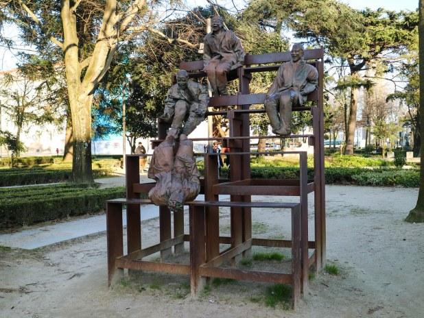 Jardín de las Cordoeiras en Oporto