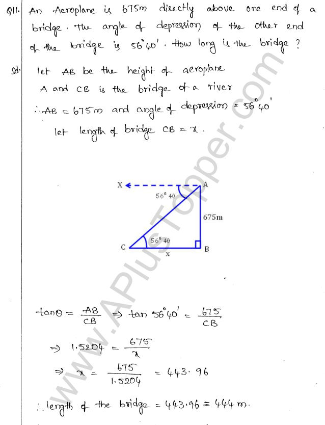 ml-aggarwal-icse-solutions-for-class-10-maths-chapter-21-heights-and-distances-10