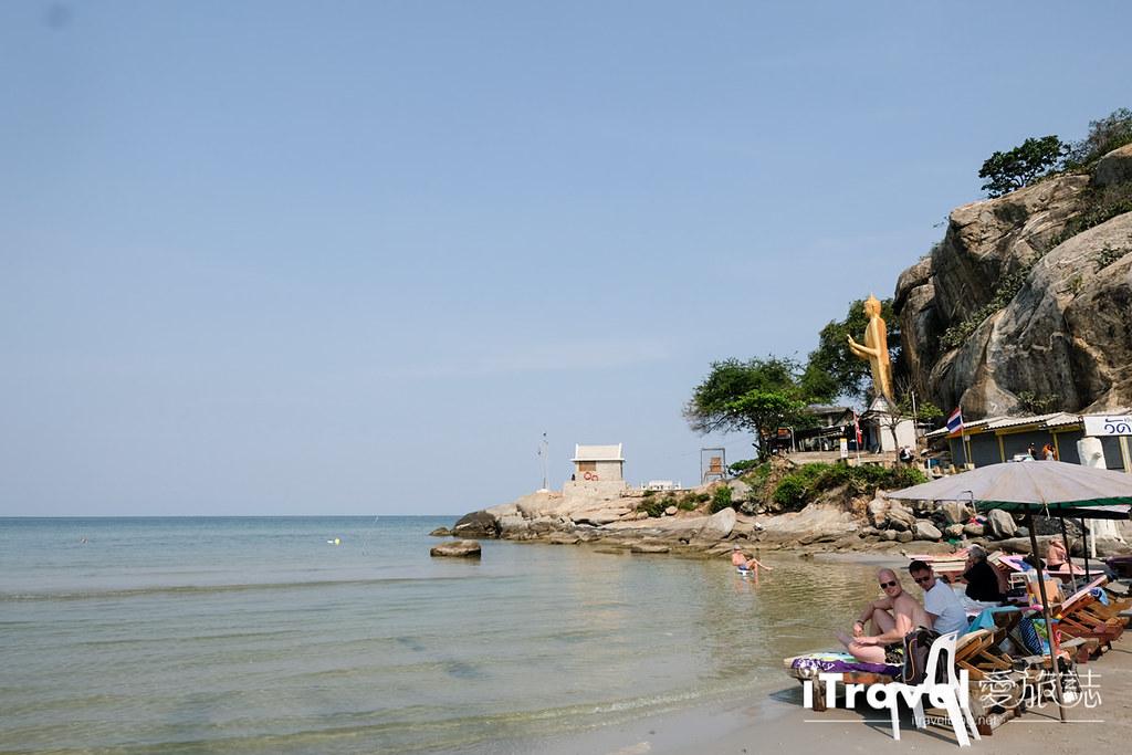 華欣景點推薦 筷子山海灘Khao Takiab beach (1)