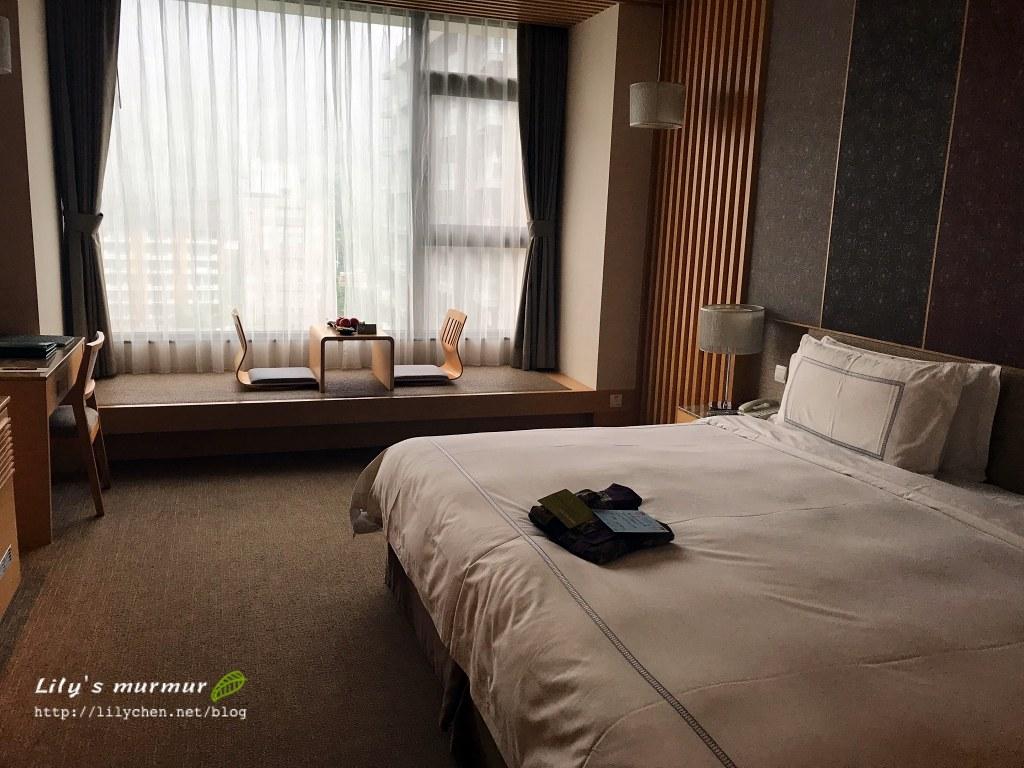 圖說:長榮鳳凰礁溪的床好大好好睡啊!