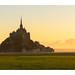 Le Mont Saint Michel sunrise