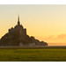 Le Mont Saint Michel sunrise