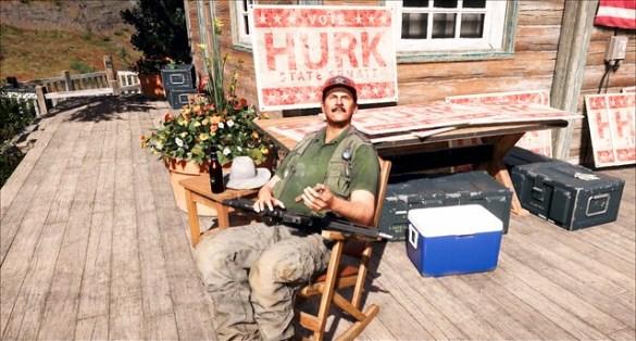 Far Cry 5 - Senator Hurk