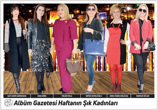 Elif Gizem Gündoğan, Esra Kiriş, Melike Pala, Nefise Develioğlu, Anna Maria Bielecka, Nurhan Özcan