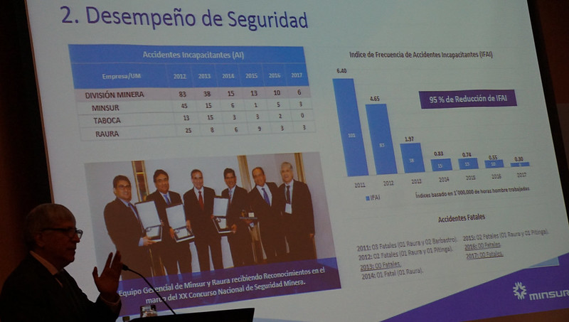 Minas del Grupo BRECA sin accidentes mortales el 2017